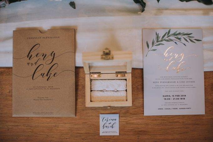 Rustic Wedding Heny & Luke by Abirupa Wedding Planner - 001