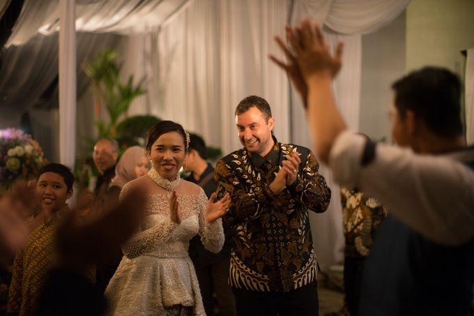 Bohemian & Rustic Simple Wedding of Heny & Luke by Abirupa Wedding Planner - 005