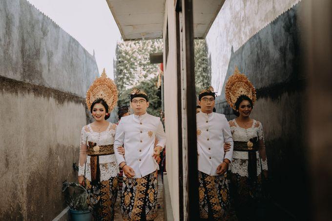 Balinese Wedding of Krishna & Bunga by Hexa Images - 005