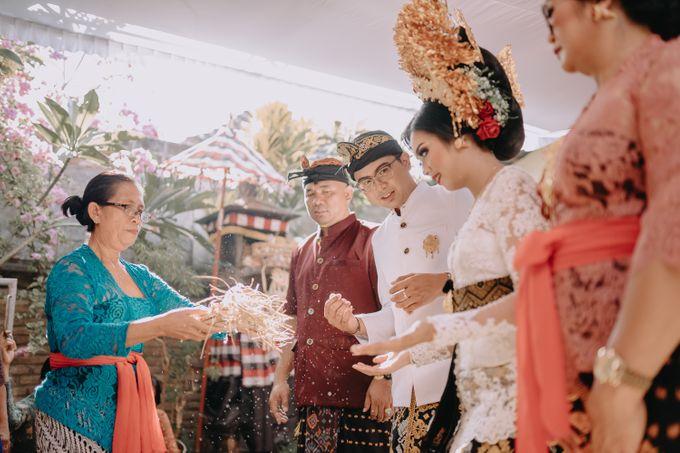 Balinese Wedding of Krishna & Bunga by Hexa Images - 011