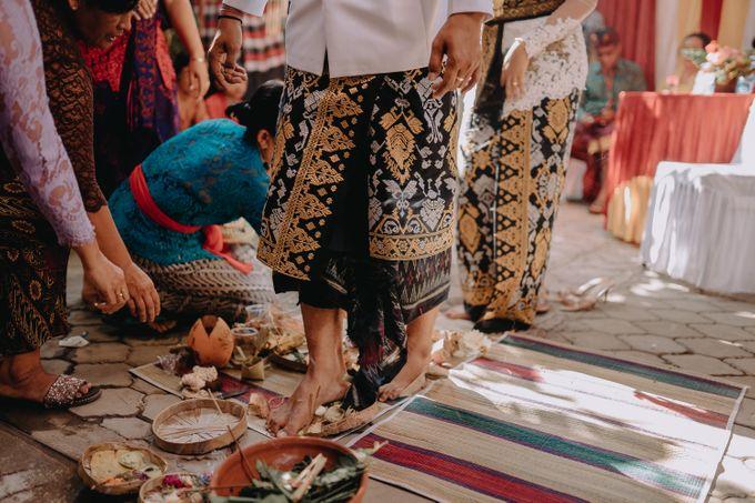 Balinese Wedding of Krishna & Bunga by Hexa Images - 012