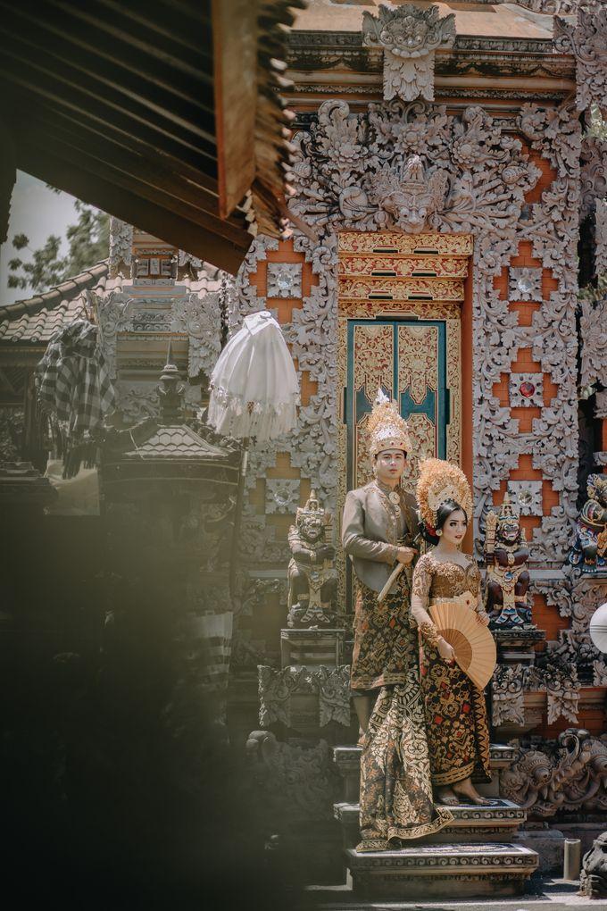 Balinese Wedding of Krishna & Bunga by Hexa Images - 014