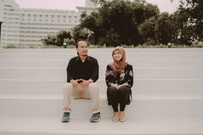 Prewedding of Zaryza & Ridho by Ozul Photography - 016