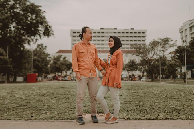 Prewedding of Zaryza & Ridho by Ozul Photography - 021