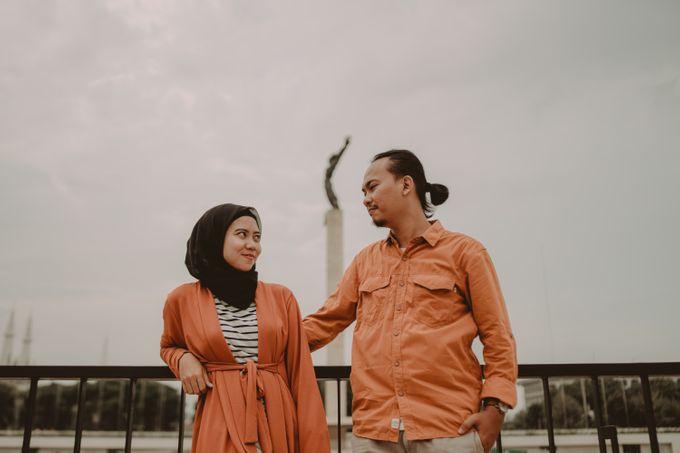 Prewedding of Zaryza & Ridho by Ozul Photography - 028