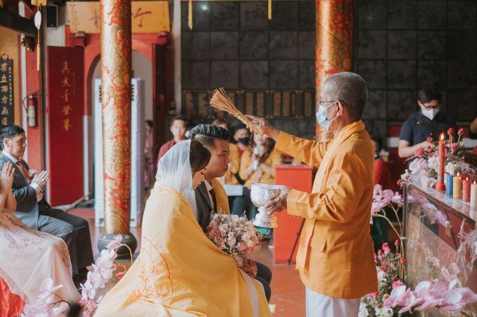 Steven & Catherin Wedding at Aston Cirebon by PRIDE Organizer - 012