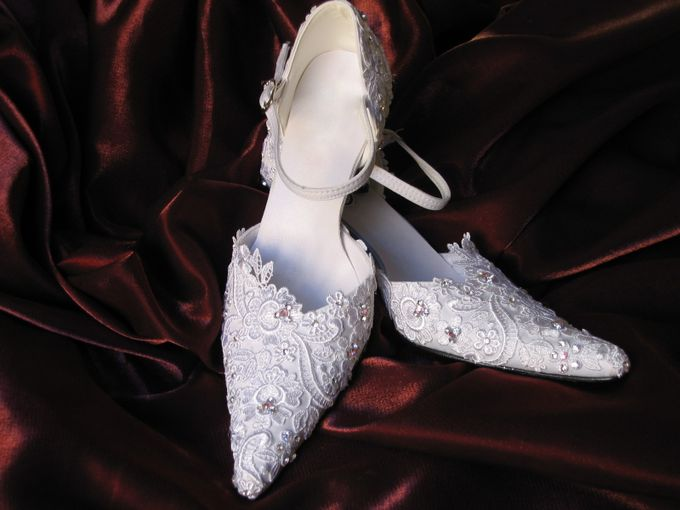 BRIDAL SHOES by Pamela Falli - 030
