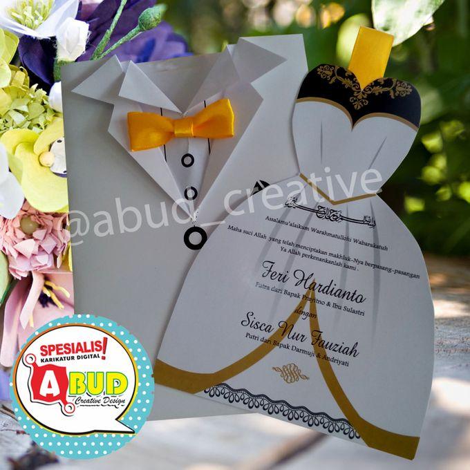 Elegant Ribbon Invitation by Abud Creative Design - 005