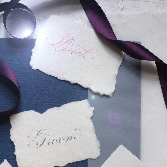 Wedding invitations by xuecalligraphy - 022