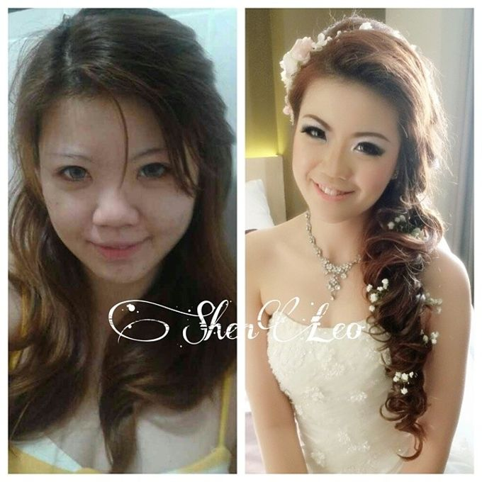 wedding makeup by ShenLeo Makeup - 014