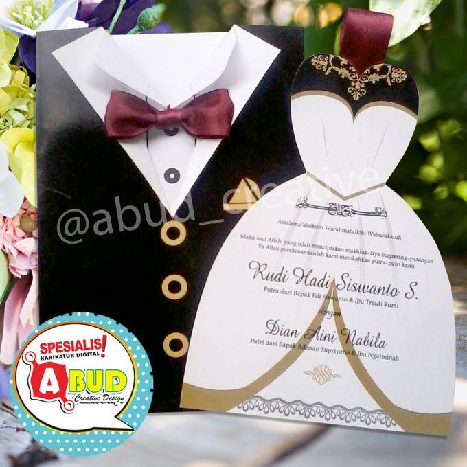 Elegant Ribbon Invitation by Abud Creative Design - 003