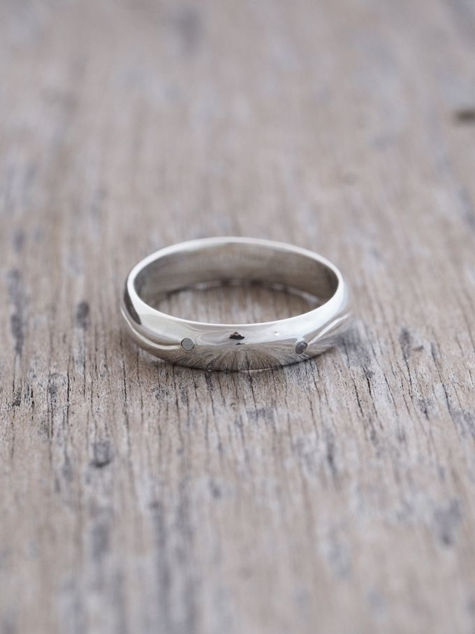 Wedding Band in Silver by Gardens of the Sun - 012