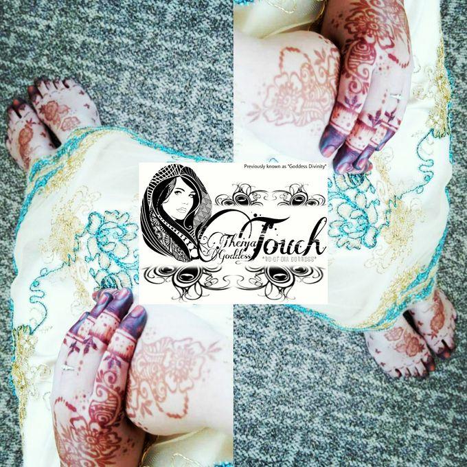 Henna Artwork Designing by Theiya Goddess Touch - 003