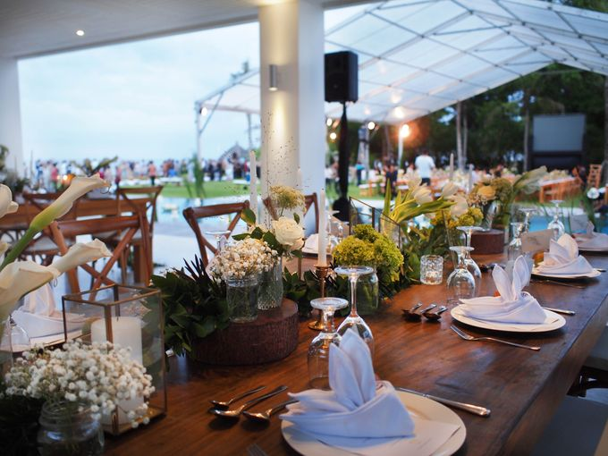 Lonardo and Felicia s wedding with ocean view by DASA Catering - 002