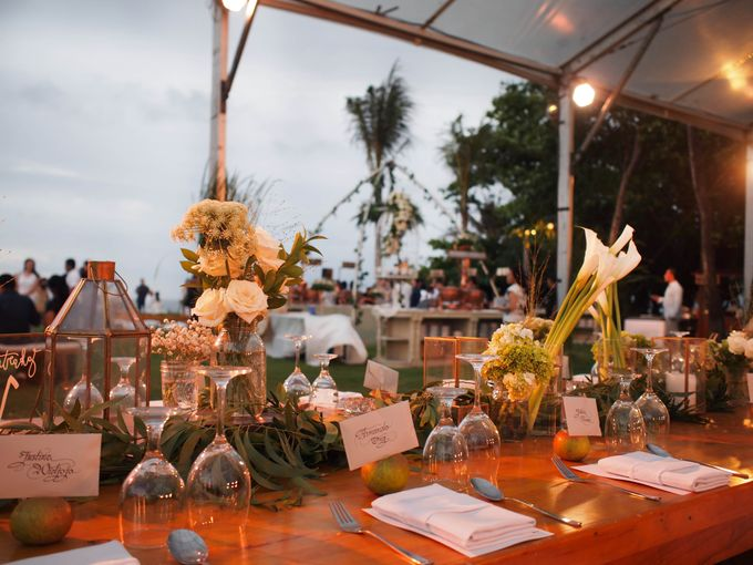Lonardo and Felicia s wedding with ocean view by DASA Catering - 006