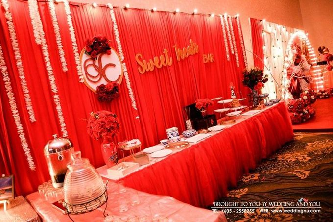 Oriental Wedding Decoration Theme by Wedding And You - 019