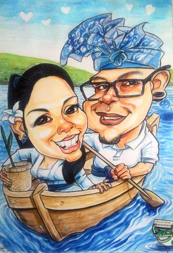 Wedding Souvenir by Bali Karikatur - 018