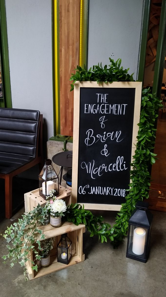 Engagement - Sangjit Decoration Marcell and Brian by Hana Seserahan - 001