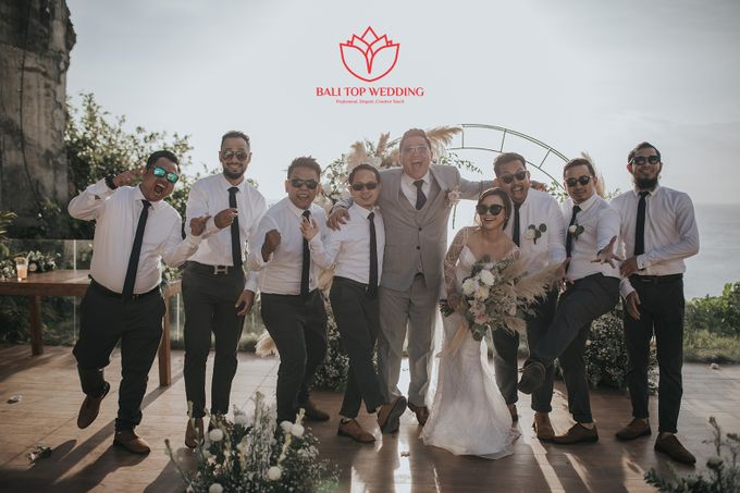 The Happiest Man by Bali Top Wedding - 007