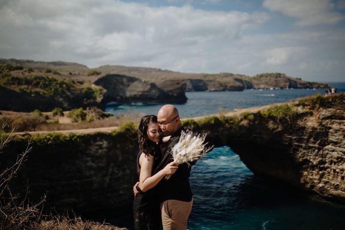 Nusa Penida Pre-Wedding Trip of Arya and Nadya by PadiPhotography - 038