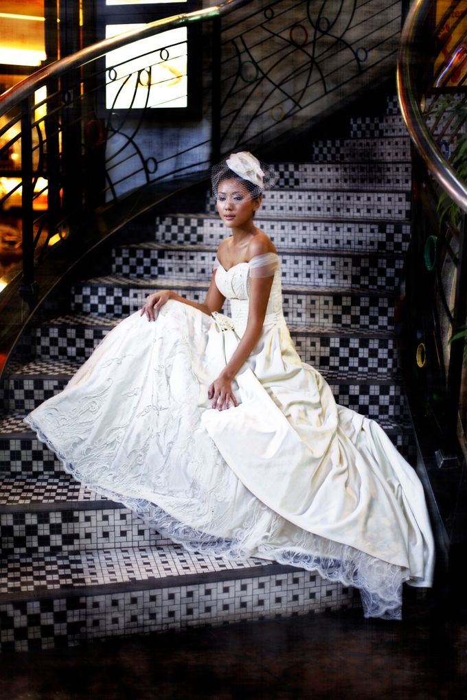 wedding gowns shoot by Pretty In White - 008