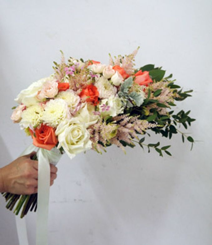 Bridal Bouquets by The Olive 3 (S) Pte Ltd - 007