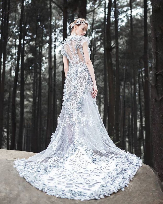 Premium Wedding Gown Design by Tracy Bridal House - 007