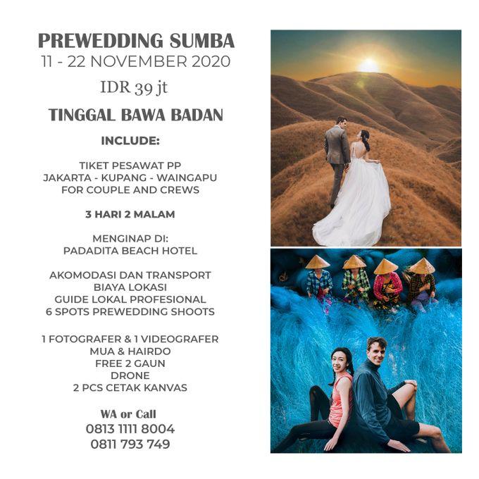 Paket Prewedding Sumba 2020 by GoFotoVideo - 002