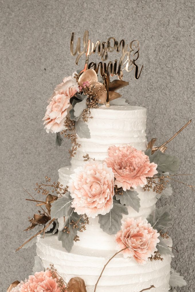 The Wedding of Winson & Jennifer by KAIA Cakes & Co. - 025
