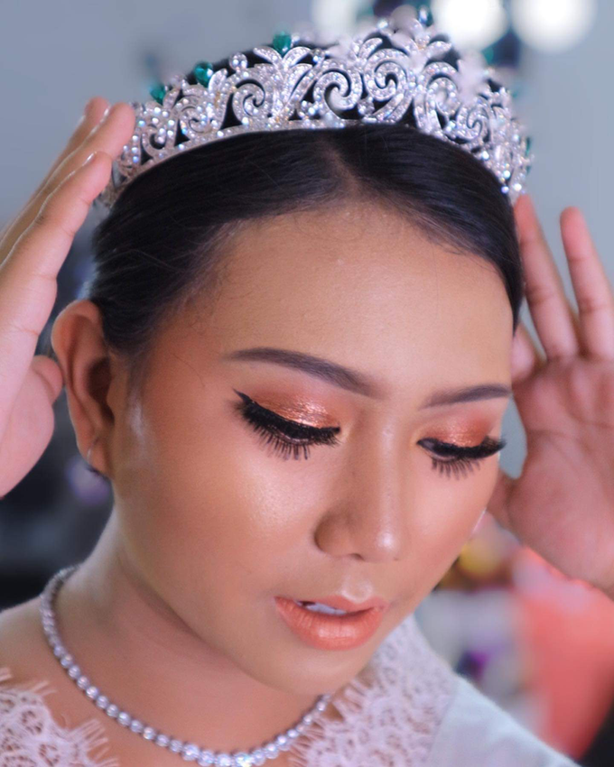 Wedding make up . Ms . miyuki by Pangestwury MakeOver - 003