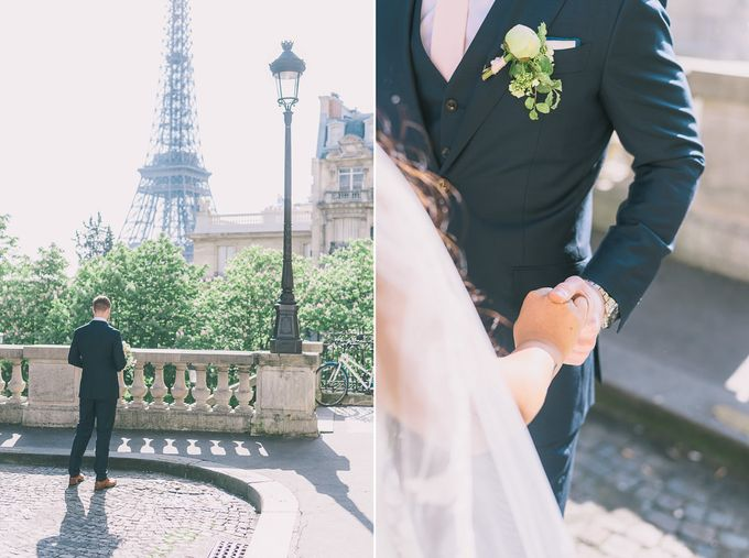 Elopement in Paris by Elias Kordelakos - 019