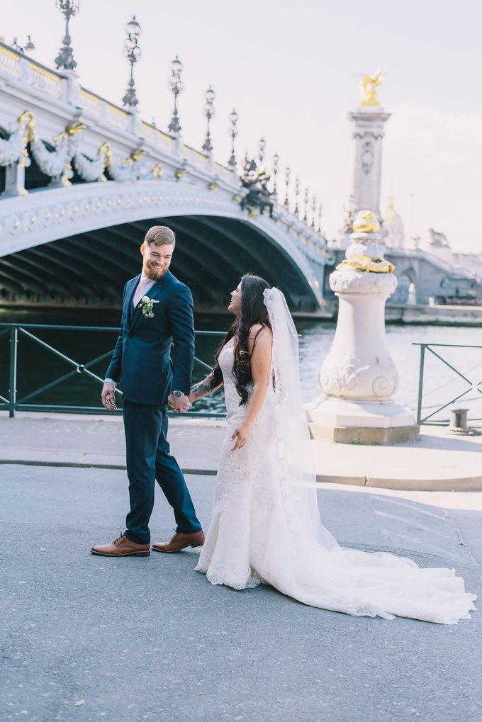 Elopement in Paris by Elias Kordelakos - 022