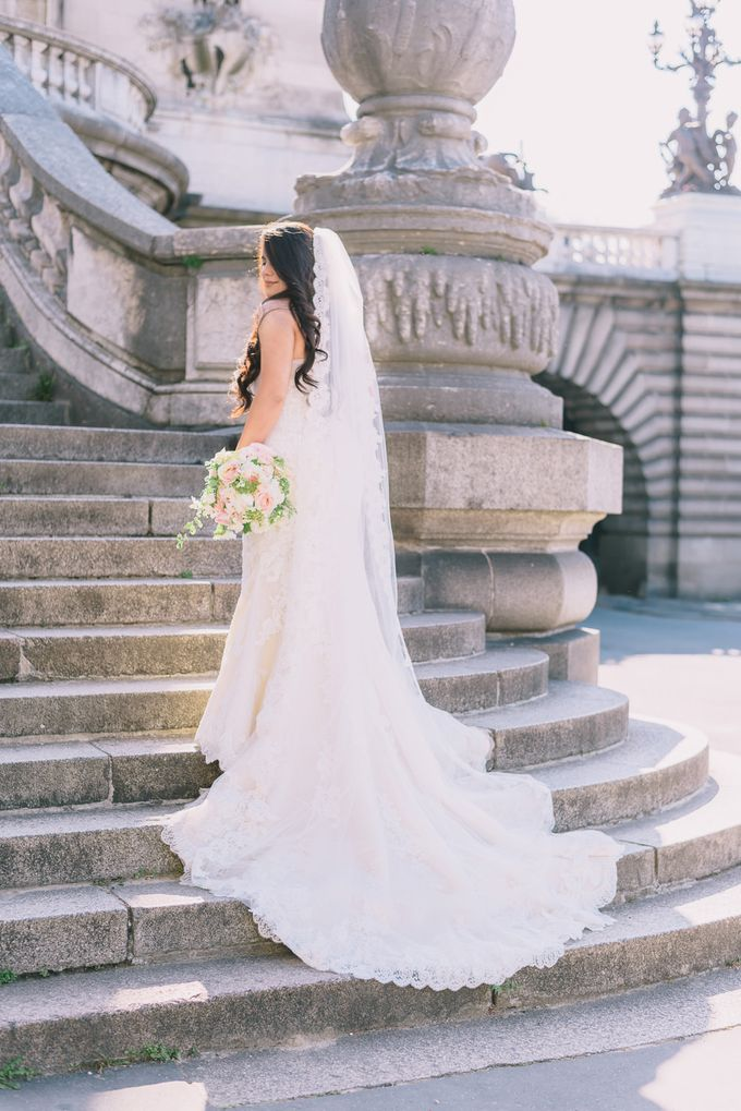 Elopement in Paris by Elias Kordelakos - 023