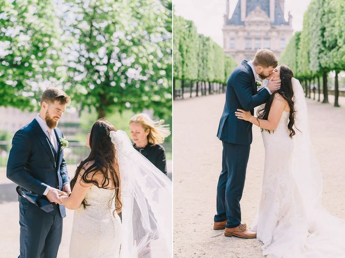 Elopement in Paris by Elias Kordelakos - 025