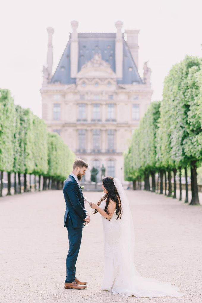 Elopement in Paris by Elias Kordelakos - 028