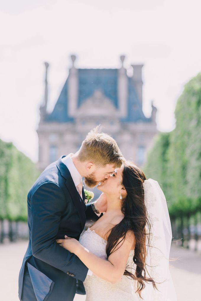 Elopement in Paris by Elias Kordelakos - 029