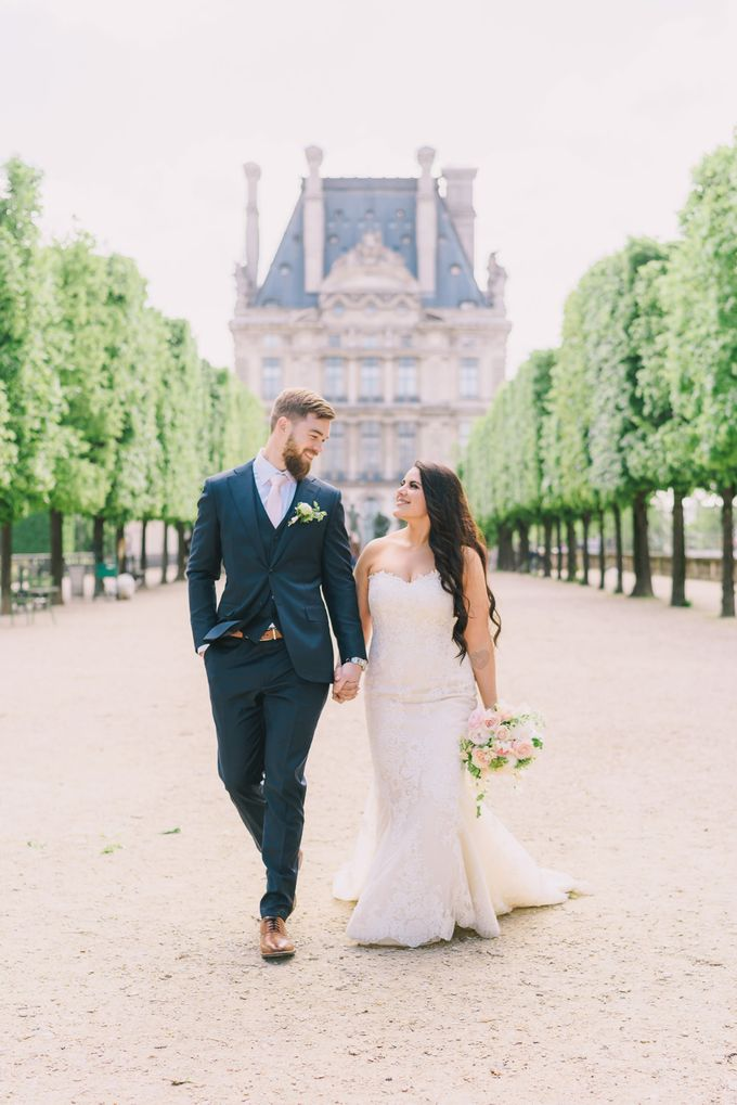 Elopement in Paris by Elias Kordelakos - 030