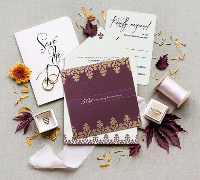 Announcement Invitation Cards by 123WeddingCards by 123WeddingCards - 004