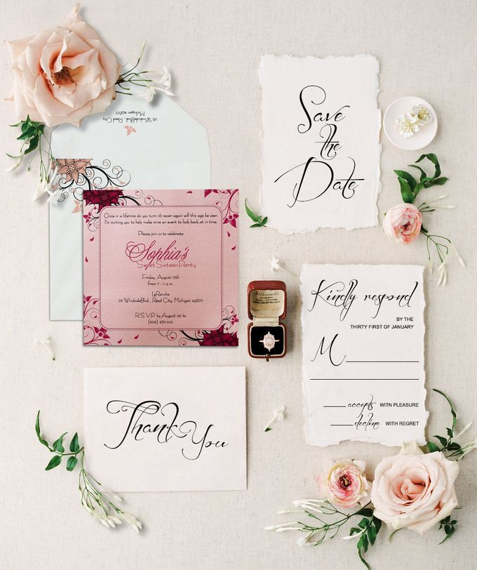 Announcement Invitation Cards by 123WeddingCards by 123WeddingCards - 002
