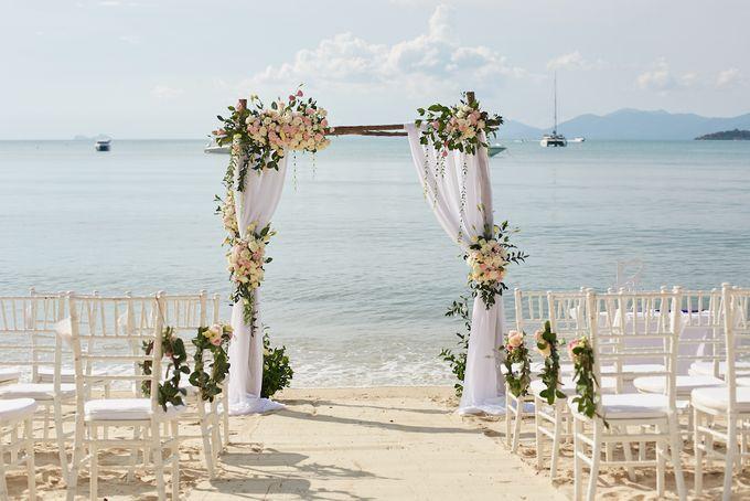 Yola & Sam Wedding by Samui Weddings and Events - 001