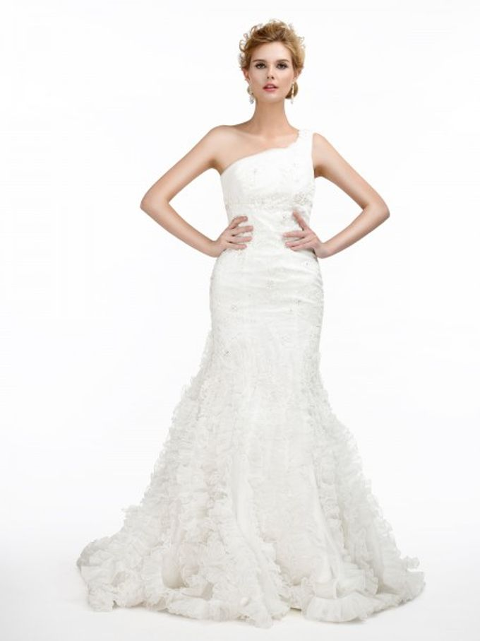 Brides Gown by AWEI Bridal - 008