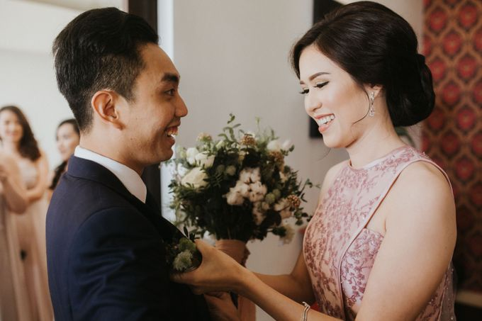 The Wedding of Adrian & Priscillia by Lis Make Up - 007