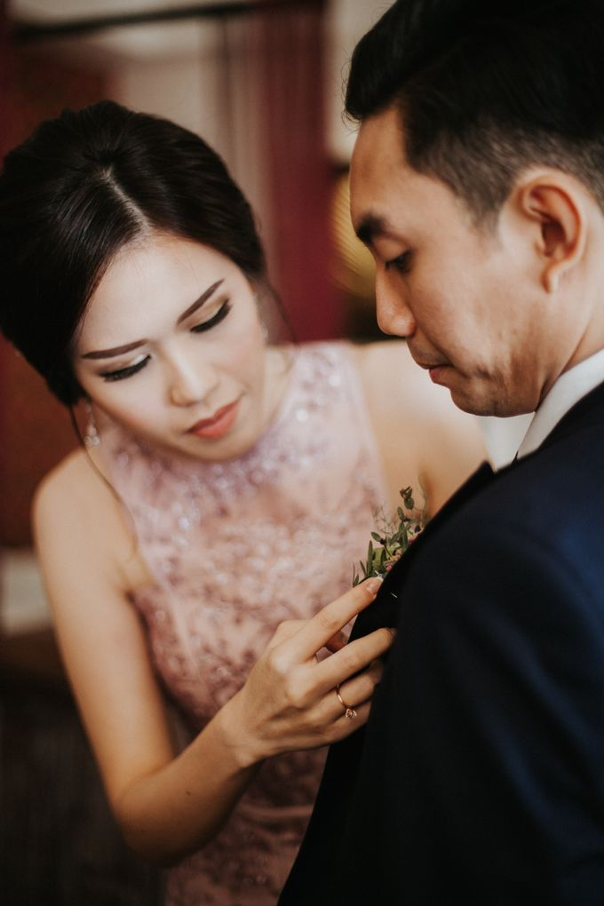 The Wedding of Adrian & Priscillia by Lis Make Up - 008