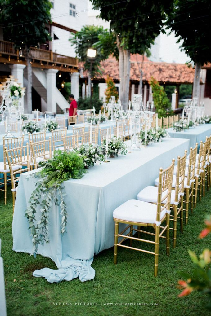 Romantic Foliage Wedding by Pea and Pie - 011