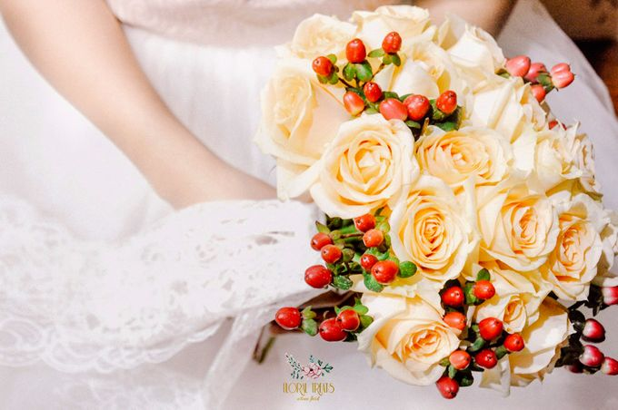 Pre-wedding Bouquets by Floral Treats - 007