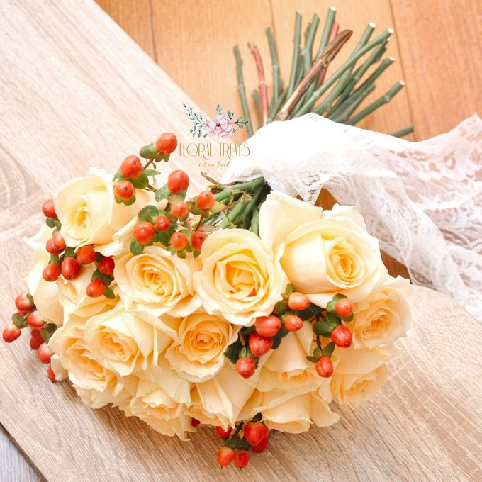Pre-wedding Bouquets by Floral Treats - 008