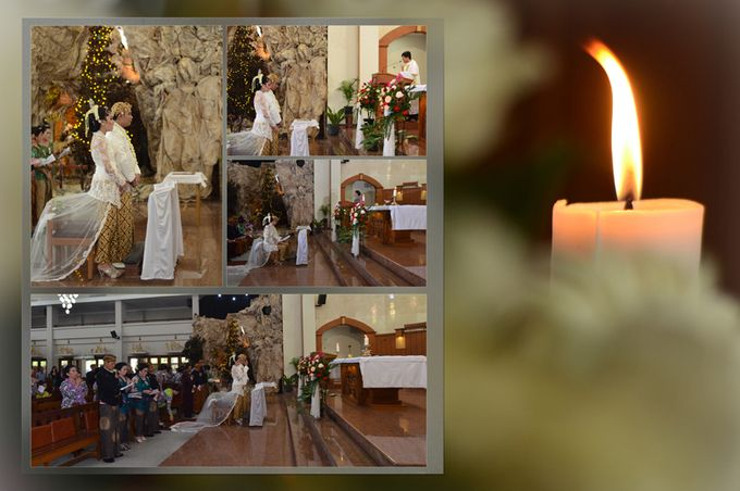 Pemberkatan Pernikahan Diza & Dani by Creative Fotografi - 015