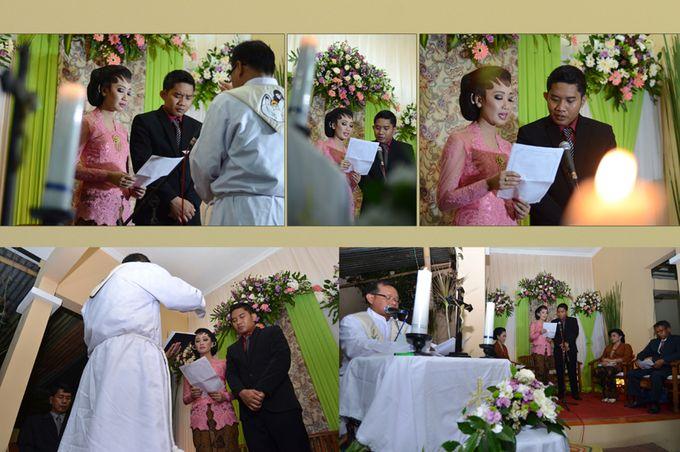 Pemberkatan Pernikahan Diza & Dani by Creative Fotografi - 008