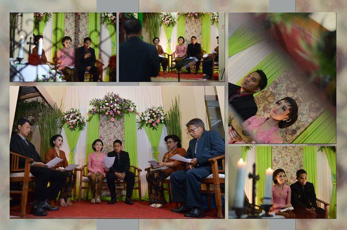 Pemberkatan Pernikahan Diza & Dani by Creative Fotografi - 005