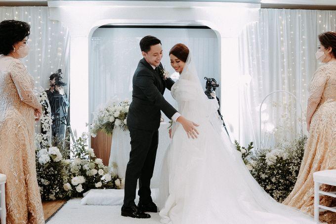Glen & Felienda Wedding Decoration by Valentine Wedding Decoration - 011